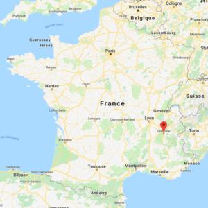 Carte de Grenoble pour un programme loi Pinel