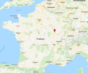 carte google maps représentant la ville de Dijon